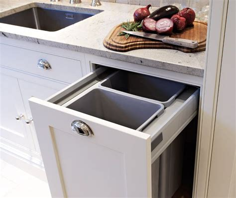hidden trash can cabinet tom howley kitchens hidden garbage can hidden garbage