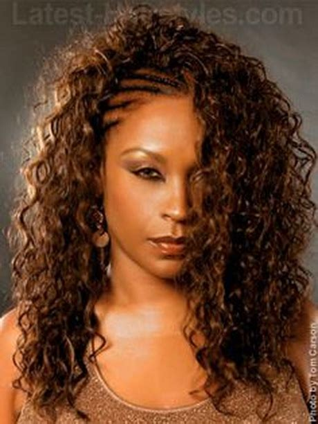 Black Hairstyles With Braids And Curls by Crochet Braids With Curls Newhairstylesformen2014