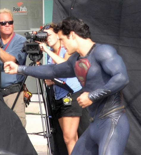 Superman Ls by Henry Cavill S Superman Package Me Up