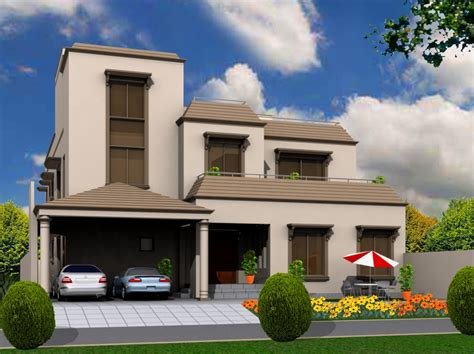 10 marla new home design 3d front elevation com 10 marla house front elevations