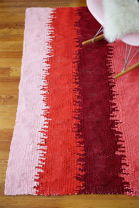 rug diy ideas static lines woven rug diy a beautiful mess