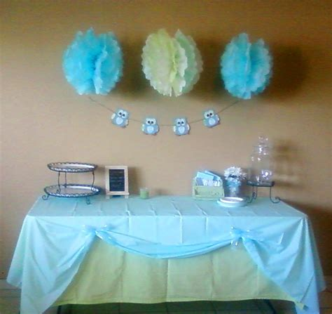 Baby Shower Table Decorations by Delight Inspired Boy Baby Shower Table Decor