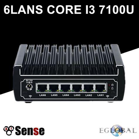 Rakitan Pc Based On Intel Kabylake I3 7100 6 intel lan fanless pfsense mini pc intel kaby lake i3 7100u ddr4 ram aes ni linux firewall