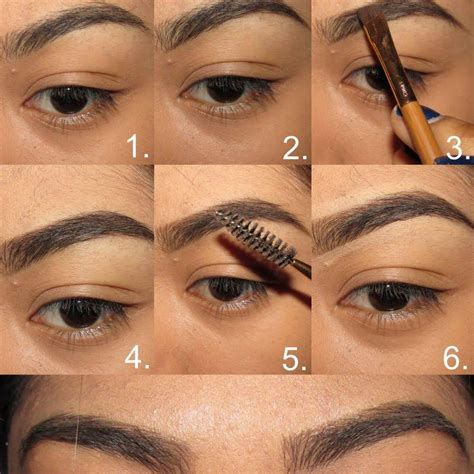 tutorial alis mata untuk wajah bulat tips bentuk alis yang tepat untuk si wajah bulat moeslema