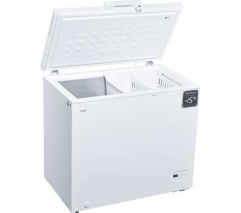 Home Freezer buy logik l200cfw17 chest freezer white free delivery