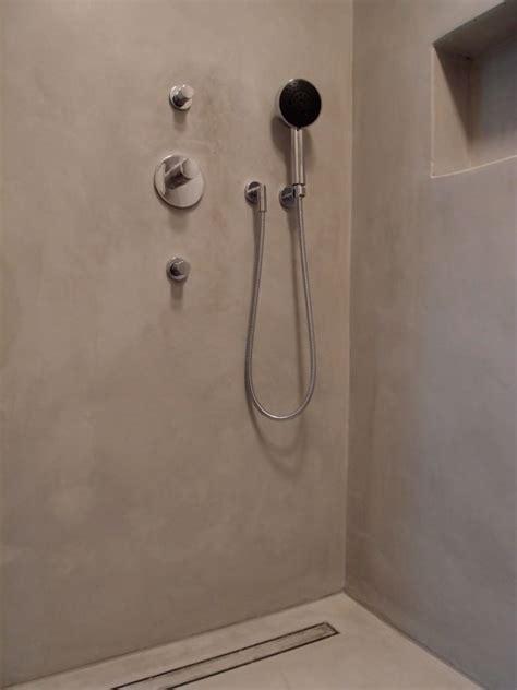 wasserdichter putz dusche die fugenlose dusche trendig und chic farbefreudeleben
