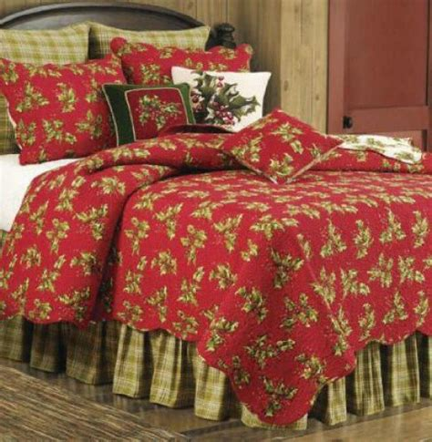 christmas comforters and quilts christmas holiday bedding