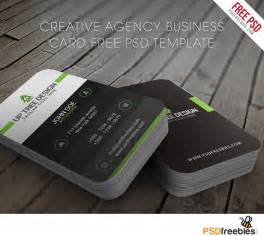 business card free creative agency business card free psd template