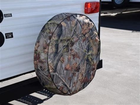camouflage spare tire cover size