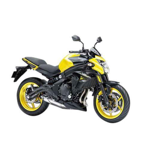 jual kawasaki er 6n abs yellow sepeda motor vin 2015