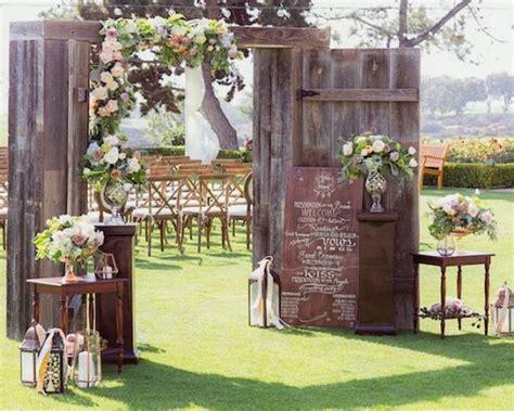 Wedding Ceremony Doors by Wedding Doors Wonderful Wedding Backdrops With Doors