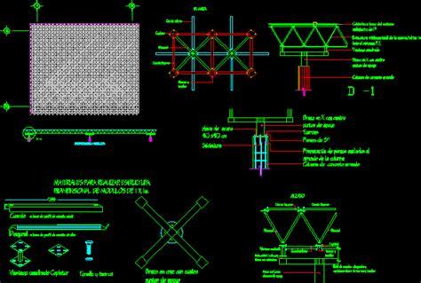 tridilosa dwg detail  autocad designs cad