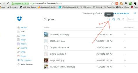 dropbox quick start the ultimate quick start guide to dropbox wfa life