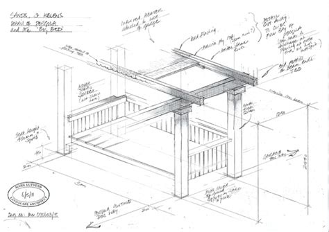 Small Home Design Plans Structures Mark Lutyens Landscape Architect