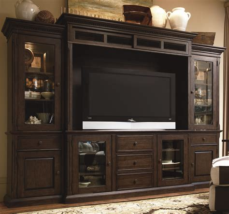 wall center paula deen by universal home 193966he entertainment console wall unit baer s furniture
