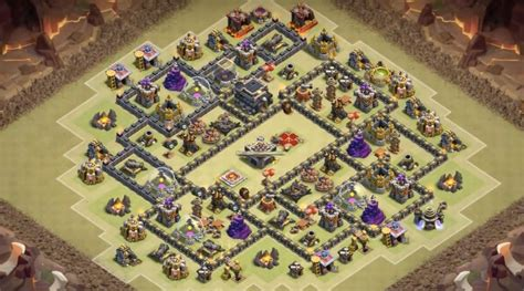 layout coc base war th9 21 epic war base designs for 2016 th5 to th11