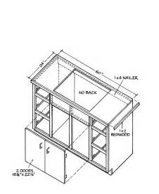 woodworking plans kitchen cabinets follow this excellent