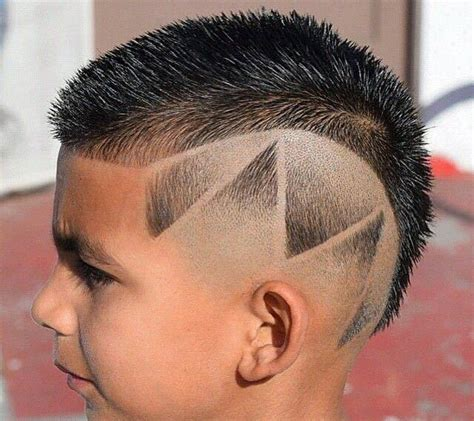 trendy contemporary boys haircut styles  child