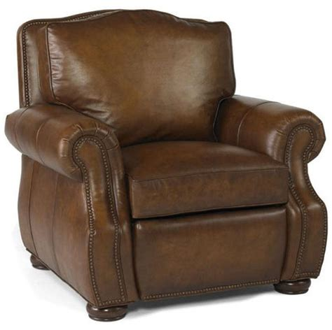 leather armchair recliner options traditional leather