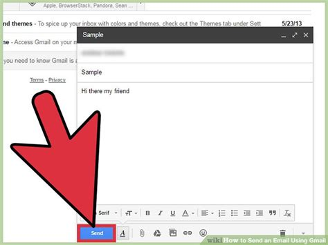 send secret email how to send an email using gmail with pictures wikihow
