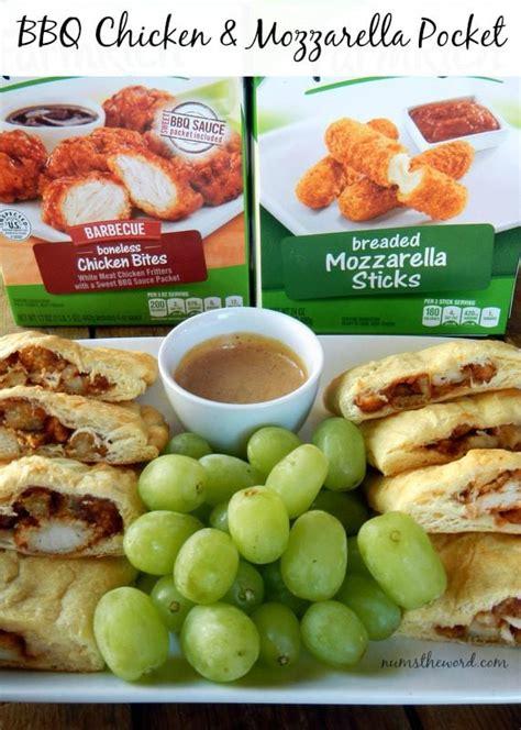 Chicken In Your Pocket bbq chicken mozzarella pocket numstheword