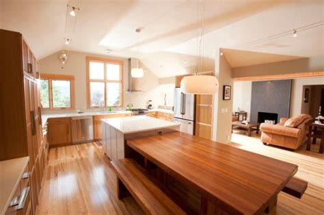 kitchen island with table extension google search 30 kitchen islands with tables a simple but very clever combo