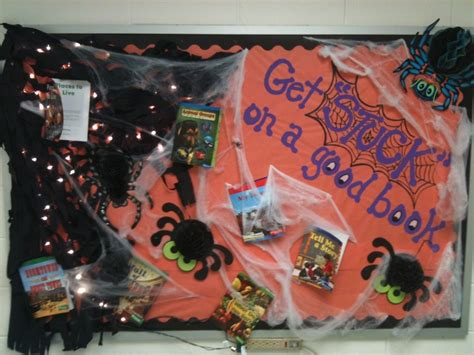 halloween reading themes great halloween bulletin board complete with lighted web