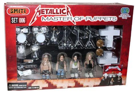 Metalica Boxed Set Figure Figure metallica master of puppets 25 pc heavy metal rock band lego figure stage set
