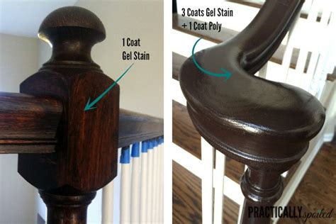 how to refinish a wood banister best 25 java gel stains ideas on pinterest