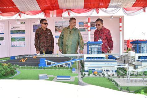 Miniatur Gerbong Batubara Indonesia media center arsip berita berita foto peresmian dan groundbreaking proyek proyek