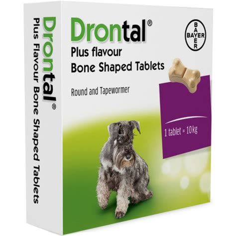 drontal for dogs drontal plus flavour bone shaped worming from 163 1 91 waitrose pet