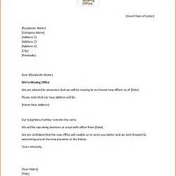 how to write a change of address letter uk cover letter