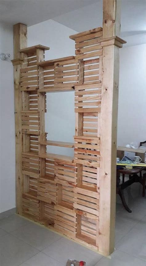 diy room divider ideas pallet room divider ideas wood pallet ideas