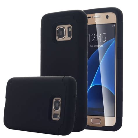 Soft Anticrack Samsung Note 5n920anti Knock Shock hybrid dual layer silicone pc shock absorbing for samsung