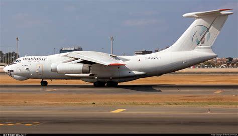 ur bxq ilyushin il td maximus air cargo ukraine air alliance michal zolnierczyk
