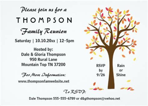 design a family reunion invitation 20 family reunion invitation designs psd vector eps