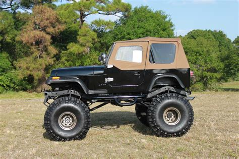 classic jeep wrangler 1993 lifted jeep wrangler 383 stroker monster 44