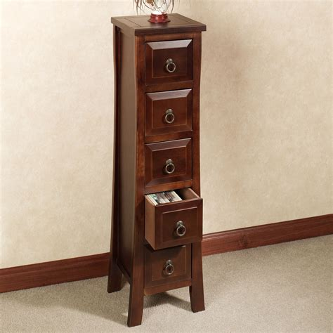Drawer Storage Cabinet Pesaro Ii Five Drawer Media Storage Cabinet