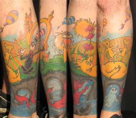 dr seuss tattoos 28 best images about dr seuss on sleeve