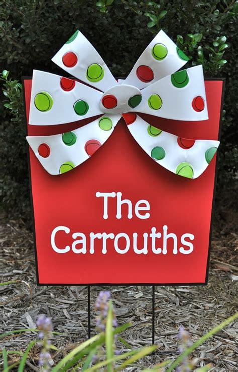 outdoor christmas yard signs fun for christmas