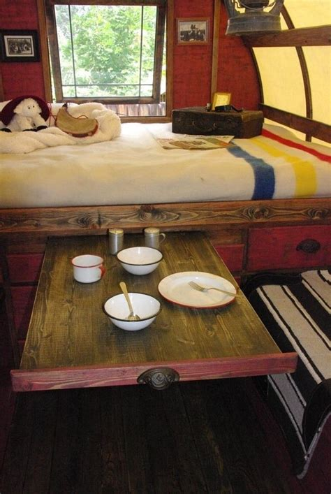rv table bed 44 cheap and easy ways to organize your rv cer