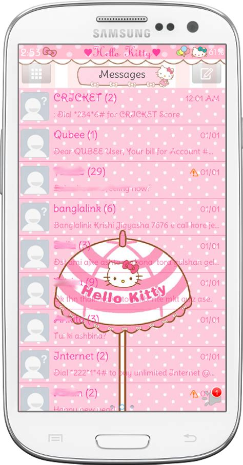 go sms keyboard themes hello kitty pretty droid themes hello kitty car ride go sms theme
