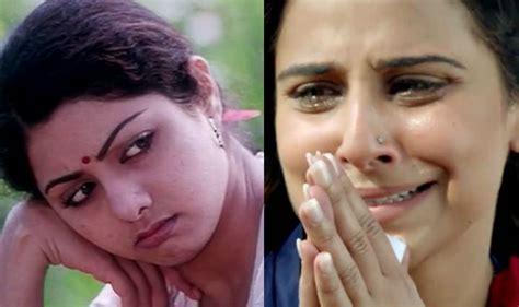sridevi film sadma vidya balan not keen to reprise sridevi s role in sadma