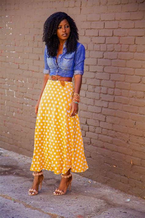 style how to style a midi skirt glamorous paper