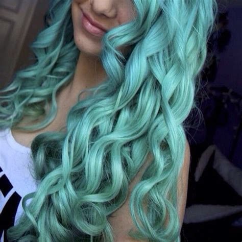 mint color hair 5 fabulous hair color ideas for summer vpfashion