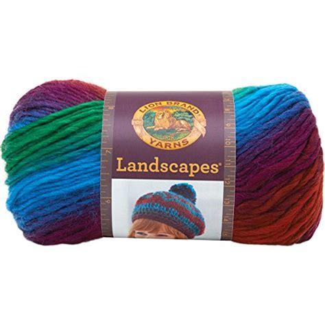 amazon yarn lion brand yarn 545 205 landscapes yarn apple orchard on