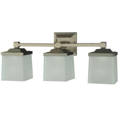 bathroom vanity light fixtures home depot martha stewart living 3 light skylands collection vanity