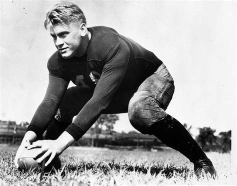 gerald ford file gerald ford on field at univ of mich 1933 jpg
