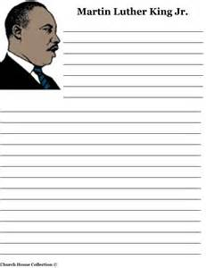 Dr Martin Luther King Jr Biography Essay by Free Coloring Pages Of Primary Lined Paper
