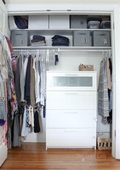 how to organize a small closet small closet organizing 101 the crazy craft lady